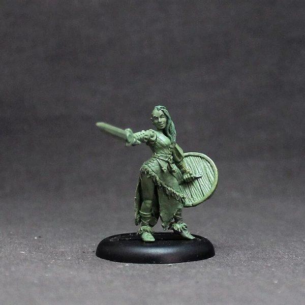 BOWO003 Female Human Barbarian
