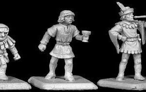 TMM-3027 : Dwarf, Page and Trumpeter