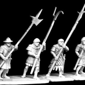 TMM-3034 Footmen with Polearms