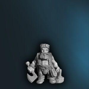 WFAD11 Male Dwarf Ranger