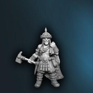 WFAD13 Male Human Barbarian