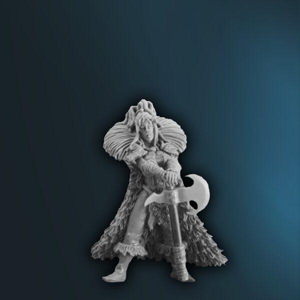 WFAD8 Female Human Barbarian
