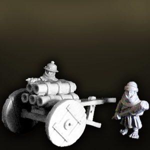 WHFA23 Halfling Organ Gun and Crew