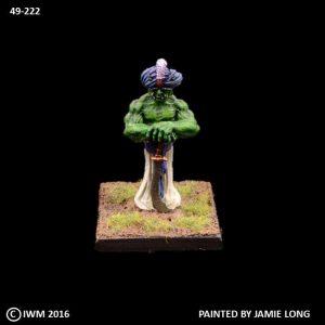 49-0222 Djinn with Sword and Turban