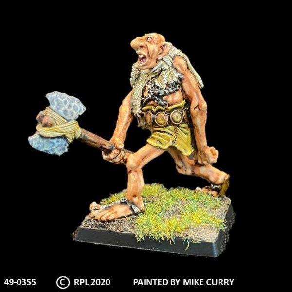 49-0355 Troll Giant with Axe