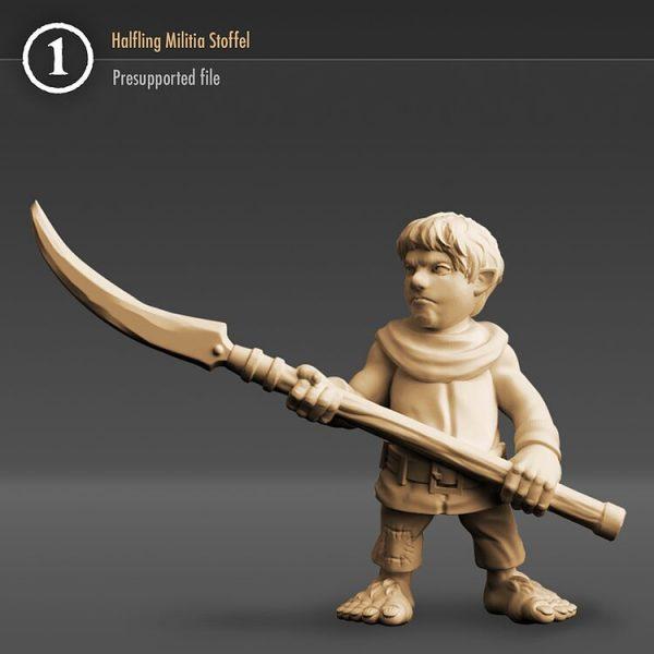 "3DHA_02 Halfling Militia ""Bello"""