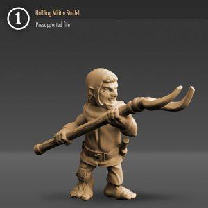 "3DHA_06 Halfling Militia ""Stoffel"""