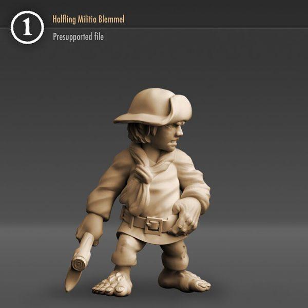 "3DHA_07 Halfling Militia ""Blemmel"""