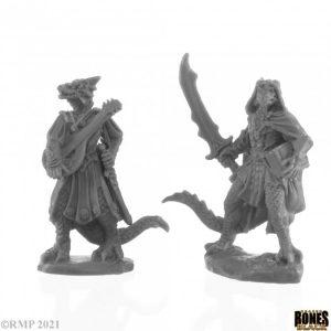 44145 Dragonfolk Bard and Thief (2)