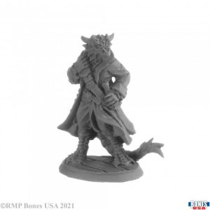 30035 Captain Blackscale, Dragonfolk Pirate