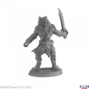 30038 Hakkle Blackhook, Gnoll Pirate
